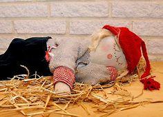 Træt og mæt julenisse