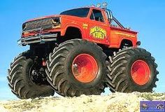 Monster Truck Madness, Big Monster Trucks, Monster Mud, Lifted Trucks, Old Trucks, Pickup Trucks, Truck Pulls, Truck Videos For Kids, Real Monsters