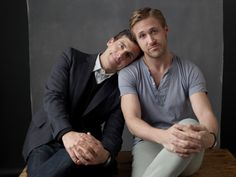 two of my favorite men...for very different reasons
