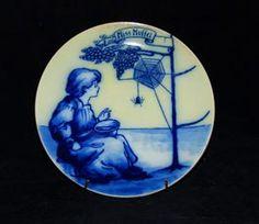 Little Miss Muffet Plate