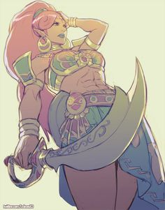 Commission - Lady Urbosa by kasai