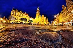 Old Market Square, Wroclaw, Poland.