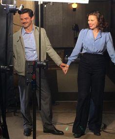 Jan 19, 2015 (6.49 pm) @JoseMolinaTV (co-exec producer) - That's a Season 1 wrap for @dominiccoop. Seeya next time, Howard! #AgentCarter