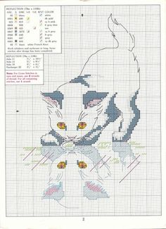 Cross-stitch Kitten...    murzilka1019 - «482263240.jpeg» on Yandex