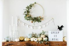 DIY Clay Moon Garland | Apartment Therapy