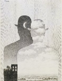 thusreluctant: The Thought Which Sees by René Magritte René Magritte 1898 - 1967  More @ FOSTERGINGER At Pinterest