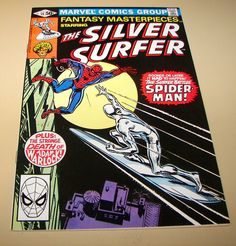Fantasy Masterpieces # 14, 1981, REPRINT of Silver Surfer # 14, 1970, MINT+ 9.8!