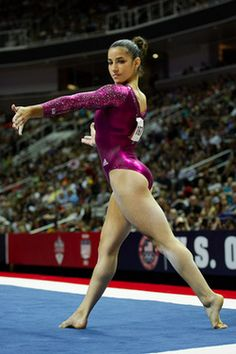 Aly Raisman, member of the 2012 U.S. Olympic team!