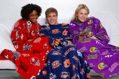 Snuggies for your entire  family.