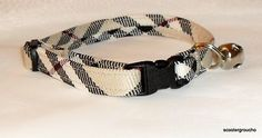 Burberry Dog collar