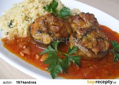 Czech Recipes, Ethnic Recipes, Tandoori Chicken, Vegetable Recipes, Thai Red Curry, Recipies, Stuffed Mushrooms, Food And Drink, Pork