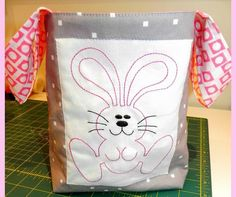 Easter gift packaging presentation ideas craft ideas pinterest embroidered easter treat gift basket20 negle Gallery