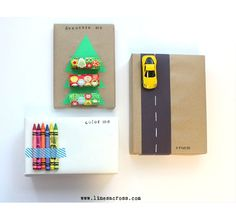 12 Creative Gift Wrapping Ideas: Love the Interactive Gift Wrap!