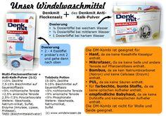 Unser Stoffwindelwaschmittel - Die DM-Kombi | Windelwissen