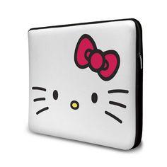 Capa de Notebook #HelloKitty White