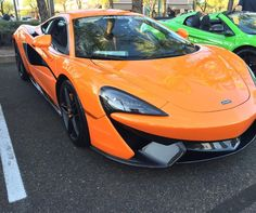 The new #mclaren #570s was out and looked great at #scottsdalecarsandcoffee