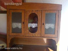Antik paraszt tálaló, konyhaszekrény, tömör fenyőfából - 49000 Ft - Nézd meg Te is Vaterán - Komplett konyhabútor, konyhaszekrény - http://www.vatera.hu/item/view/?cod=2487594659