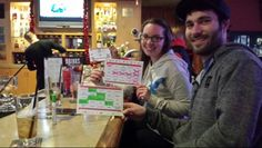 Tons of fun with I-Go Bingo at Applebee's of Wyomissing PA  Contact Triple T Entertainment to bring I-Go Bingo to your event or facility.   Www.facebook.com/tripletinfo Www.facebook.com/Tripletbingo