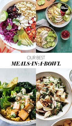 Our Best Meals-In-A-Bowl | MyRecipes.com