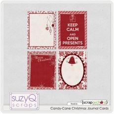 Candy-Cane Christmas Journal Cards  FREE    http://suzyqscraps.com/freebies/