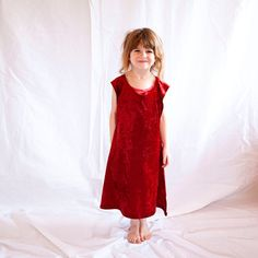 Kid's Tunic Dress  Dress up Dress  Princess by TheBitsyBugBoutique - Perfect for open-ended play! Only $20!