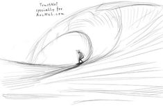 How to draw waves step 3