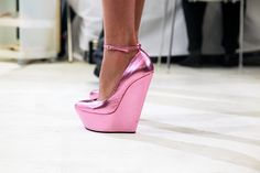 Crazy pink shoes
