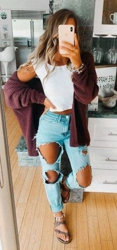 casual outfits for school & casual outfits ; casual outfits for winter ; casual outfits for work ; casual outfits for women ; casual outfits for school ; Casual School Outfits, Cute Comfy Outfits, Teen Fashion Outfits, Cute Summer Outfits, Mode Outfits, Casual Winter Outfits, Hijab Casual, Casual Summer, Spring Outfits For School