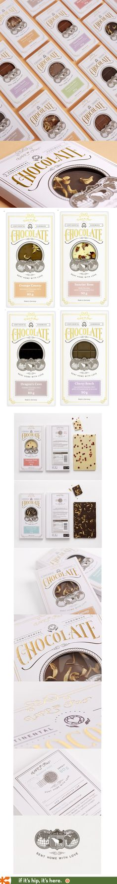 Lapp and Fao chocolate bars package design by Studio Chapeaux