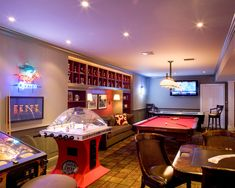 Basement Sport Game Rooms Design, Pictures, Remodel, Decor and Ideas - page 16