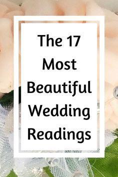 Wedding Ceremony Ideas, Non Religious Wedding Ceremony, Wedding Prayer, Church Wedding Flowers, Wedding Blessing, Wedding Advice, Wedding Planning, Wedding Day, Reading For Wedding Ceremony