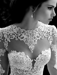 Wedding necklines 2018 @anichamola