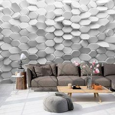 effect wallpaper for living room wall behind sofa Latest Wallpaper Designs, Wallpaper Designs For Walls, 3d Wallpaper Design, 3d Wallpaper For Walls, Designer Wallpaper, Office Wallpaper, Perfect Wallpaper, Wallpaper Ideas, Wall Behind Sofa