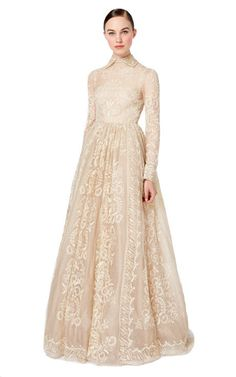 Long Sleeved Gown by Valentino - minus the collar