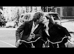 lovers on a bike...
