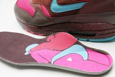 reputable site a2d71 3ca50 Parra x Nike Air Max 1  Amsterdam  Brownstone Blue Reef-Dark Oak