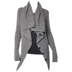 Ready to wear Ann Demeulemeester Women's Fashion - knitwear... - Polyvore