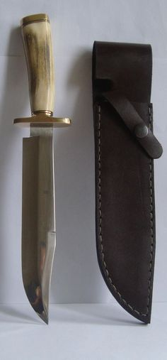 Big Bowie knife M.G.MAX  made, 1.4125 stainless steel, like some Randall knives  #HandMade
