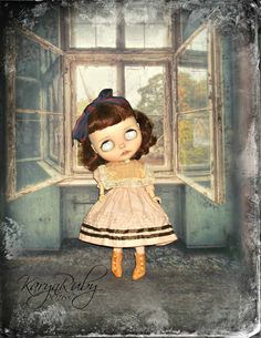 Blythe Vintage Inspired with Pintucking & Vintage by KarynRuby
