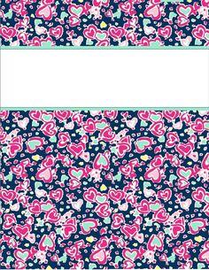 cute tumblr free printable binder covers | binder covers29