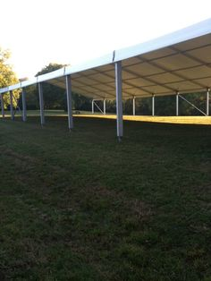 2011 Sunday in the Park...our super big tent !