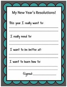 Kids New Year Bash - Resolution Sheet New Year's Eve Activities, Activities For Teens, Kids Church Lessons, School Lessons, New Years Resolution Kids, New Years Eve Traditions, Holiday Traditions, Family New Years Eve, New Year's Eve Countdown