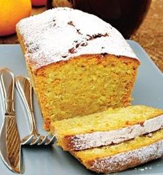 Chec cu portocale   Retete culinare - Romanesti si din Bucataria internationala No Cook Desserts, Sweets Recipes, Cake Recipes, Cooking Recipes, Pastry And Bakery, Pastry Cake, Loaf Cake, Food Cakes, Sweet Bread