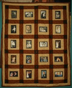 I want to make a heritage photo quilt someday. :)