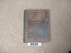 1889 Public School Music Course Fourth Music Reader Book 127 year old music book…
