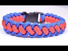 "▶ DIY a ""Curling Millipede"" Survival Paracord Bracelet - BoredParacord - YouTube"