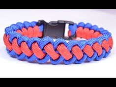 "DIY a ""Curling Millipede"" Survival Paracord Bracelet - BoredParacord - YouTube"