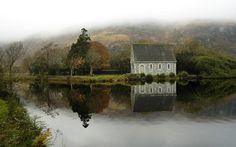 Irish lake scene