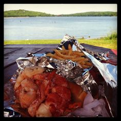 Lobster Roll in Wiscasset, ME ~sms 06/13~
