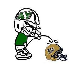 Roughriders all the way!!